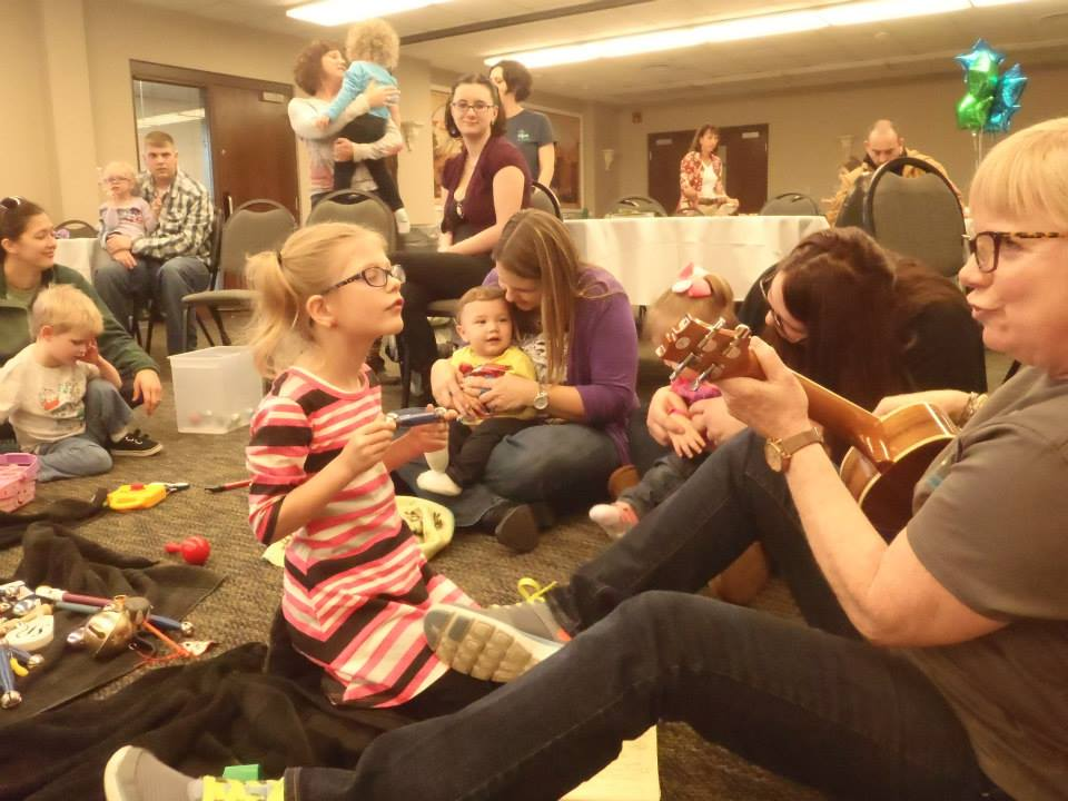Play And Learn Class At Vips Indiana Visually Impaired