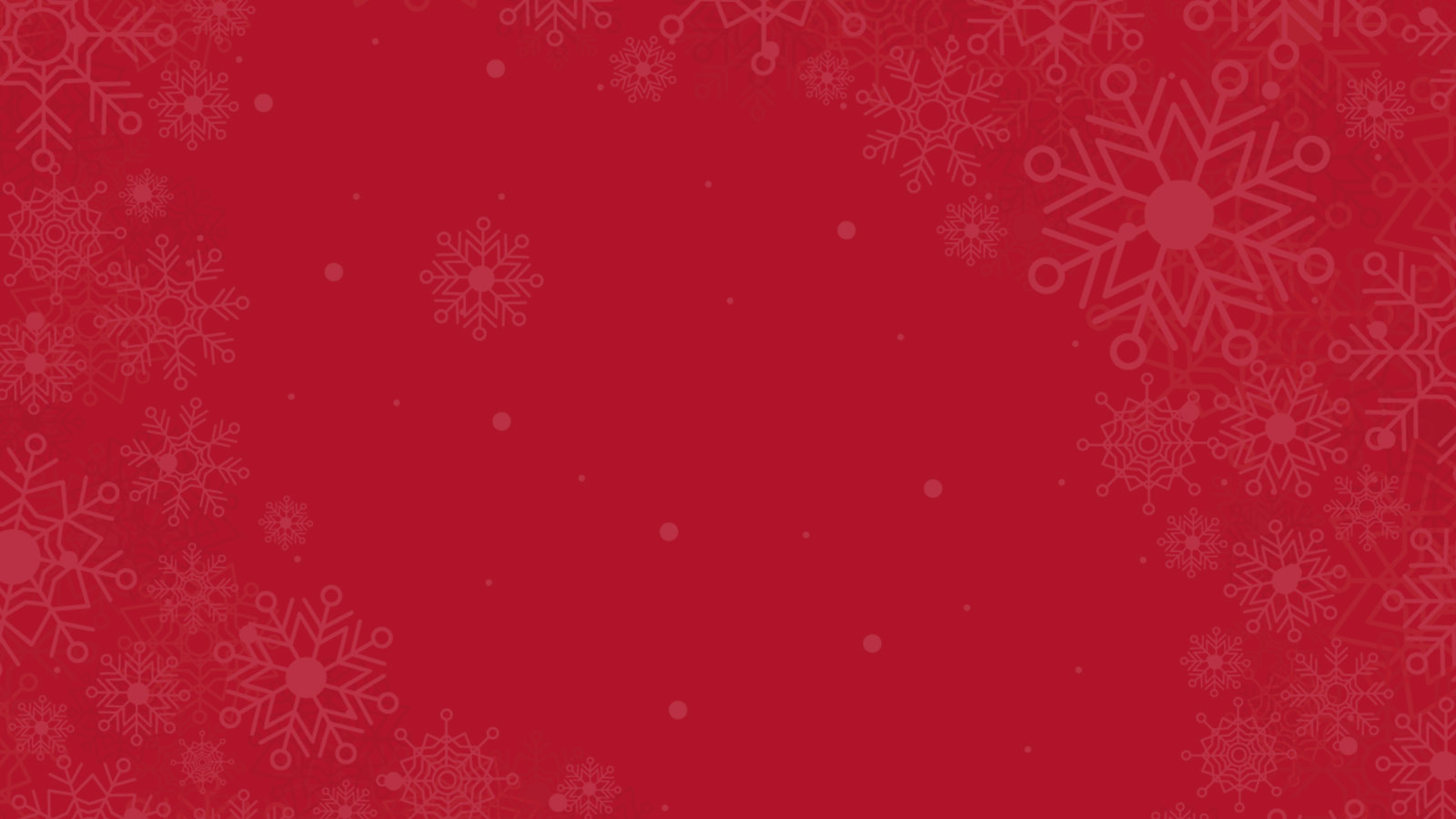 Red Snowflake Background Visually Impaired Preschool