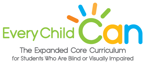 Have you worried about how your young child or student who is visually impaired is going to learn all he or she needs in order to achieve success?   This video offers a preschool-level perspective on the Expanded Core Curriculum for Students Who Are Blind or Visually Impaired (ECC).  The ECC addresses nine critical skill areas these students must learn in order to find success in school and in life. However, they can be difficult to learn with limited or no vision.  The objective of the video is to demystify the ECC for parents of young children who are visually impaired and for their general education teachers who may  have limited expertise and experience teaching children with vision loss.  The video also encourages parents and professionals to advocate for use of the ECC, and to implement it at home, in the classroom, and in the community.    Join us for a joyful journey through the ECC in a preschool for the visually impaired that also enrolls sighted peers, and share in the inspirational perspectives of adults who are visually impaired as they talk about how learning ECC skills has enhanced their lives and careers.