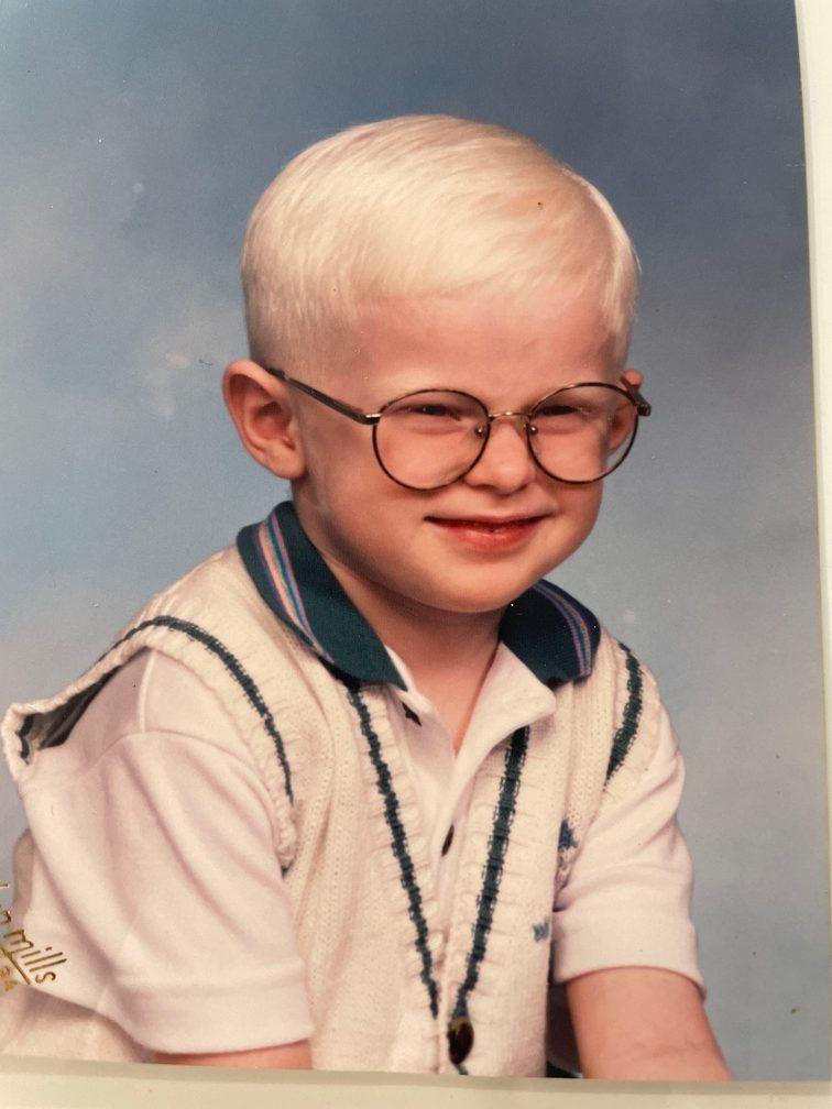 VIPS Board Member, Paul Frazier, at age 4.