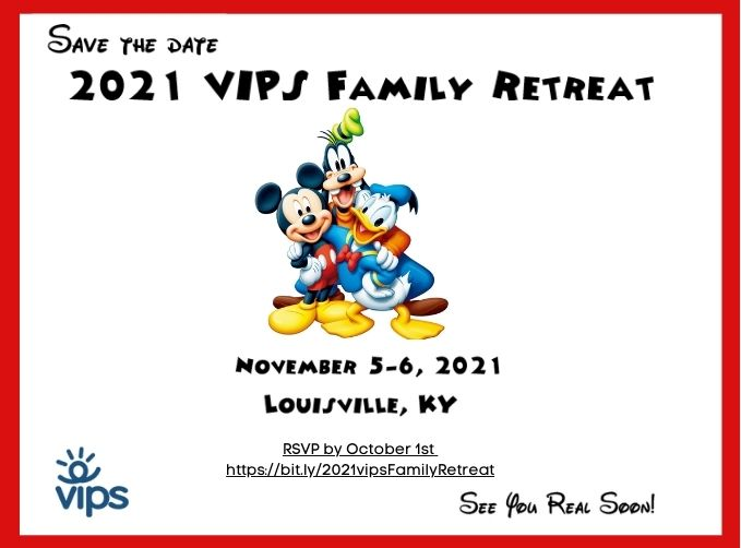 save the date - family retreat